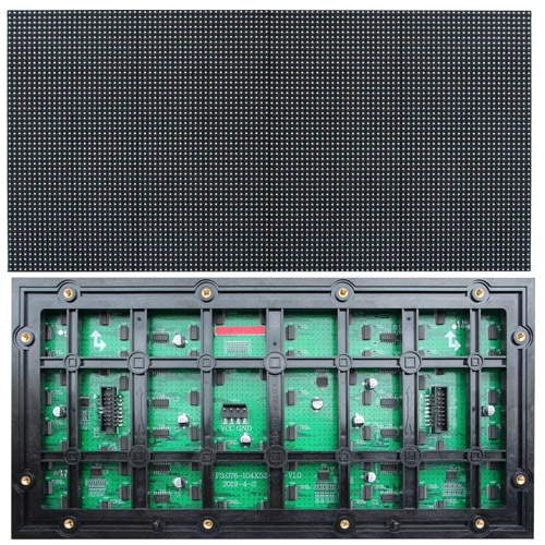 P3.076 outdoor led module 320mm*160mm