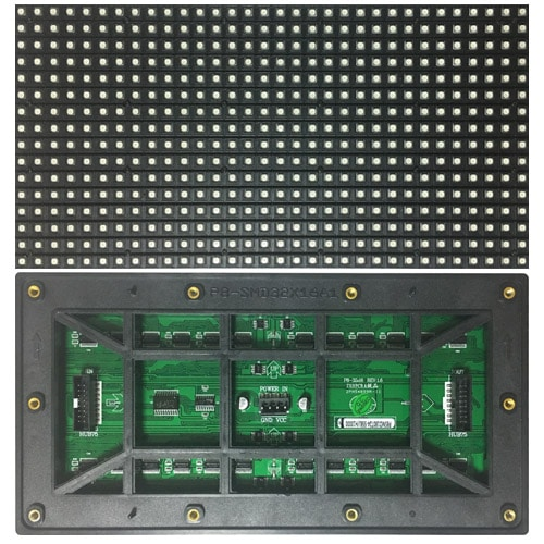P8 outdoor led module 256mm*128mm